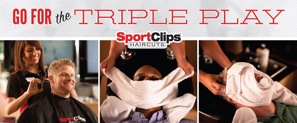 The Sport Clips Haircuts of Greenwood Triple Play